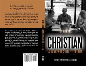 Final Cover - Christian a dangerous